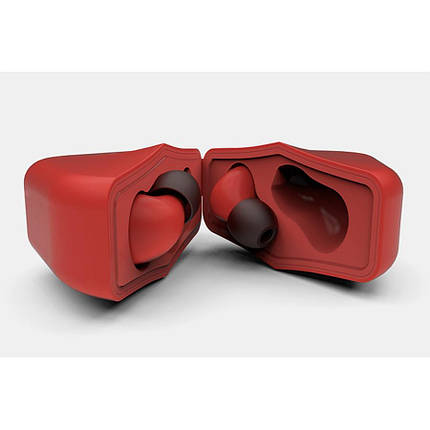 Whizzer B6 Red TWS Спортивные Наушники Гарнитура Bluetooth, фото 2