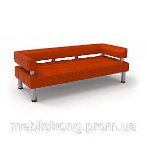 Офисный диван Стронг (MebliSTRONG) - оранжевого цвета