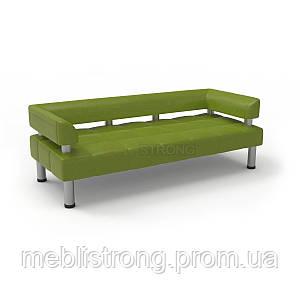 Офисный диван Стронг (MebliSTRONG) - оливкового цвета