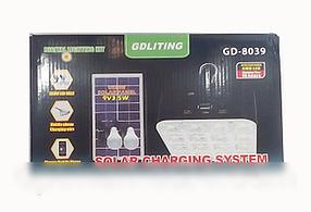 Sale! Аккумулятор GD 8039 солнечная панель, аккумулятор на солнечной батарее, фото 2