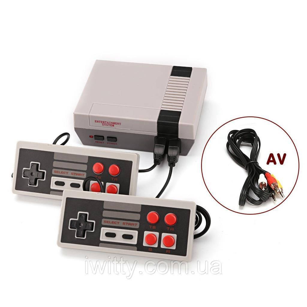 Игровая консоль на 2 джойстика Mini Game Console 1000 Игр