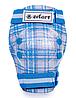 Захист для роликів дитячийнаколінники, налокітники, рукавички Zelart SK-4678 р-S CANDY, блакитний, фото 6