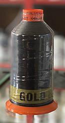 Нить Polyester #10 черная  750 метров