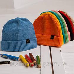 В'язана шапочка для дітей код 3094