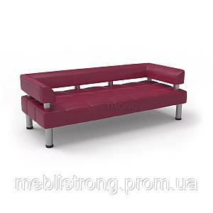 Офисный диван Стронг (MebliSTRONG) - малинового цвета