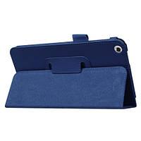 Синий чехол для ASUS Fonepad 7 (FE171CG) из синтетической кожи.