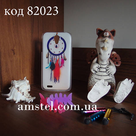 Чохол для lenovo s820 панель накладка з малюнком ловець снів, фото 2