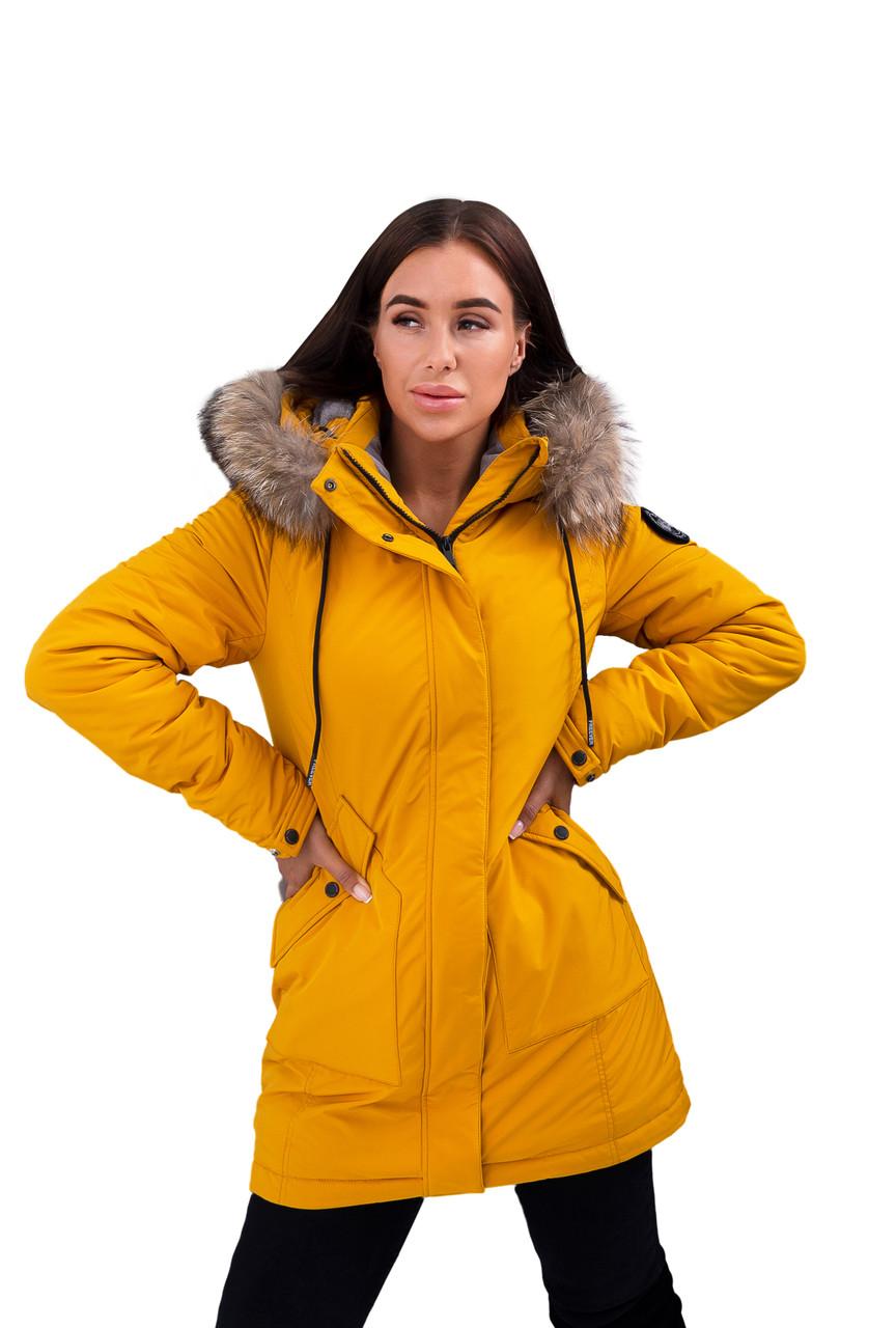 Парка женская Freever (yellow) 20504