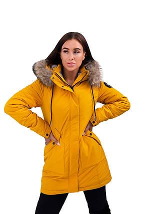 Парка женская Freever (yellow) 20504, фото 2