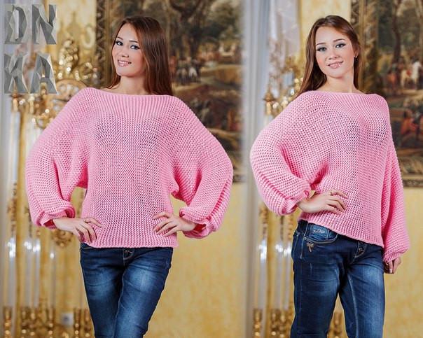 Купить женский свитер большого размера