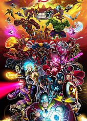 Картина GeekLand Avengers Мстители арт графика 40х60см AG.09.031