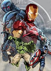 Картина GeekLand Avengers Мстители арт графика 40х60см AG.09.034