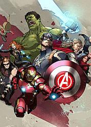 Картина GeekLand Avengers Мстители арт графика 40х60см AG.09.037