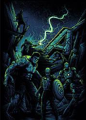 Картина GeekLand Avengers Мстители арт графика 40х60см AG.09.038