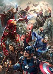 Картина GeekLand Avengers Мстители арт графика 40х60см AG.09.042