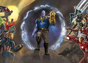 Картина GeekLand Avengers Мстители арт графика 60х40см AG.09.077