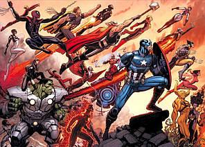 Картина GeekLand Avengers Мстители комикс 60х40см AG.09.079