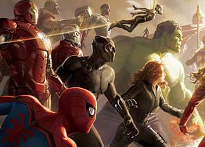 Картина GeekLand Avengers Мстители комикс 60х40см AG.09.082