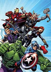 Картина GeekLand Avengers Мстители комиксная рисовка 40х60см AG.09.014