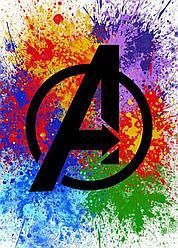 Картина GeekLand Avengers Мстители логотип 40х60см AG.09.120