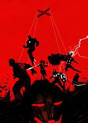 Картина GeekLand Avengers Мстители минимализм 40х60см AG.09.126