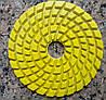 Алмазные шлифовальные круги для каменного пола 100х5 мм. Желтые. # 1000