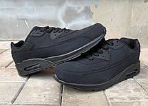 Мужские черные кроссовки реплика Nike 44 размер, фото 2