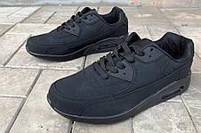 Мужские черные кроссовки реплика Nike 44 размер, фото 3