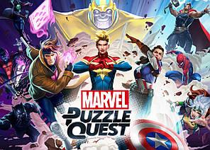 Картина GeekLand Marvel heroes Герои Марвел Puzzle Quest 60х40см MH.09.033
