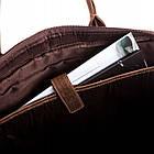 Чоловіча сумка для ноутбука BETLEWSKI  42 х 30 х 7 (TBG-HT-201) - коричневий, фото 3