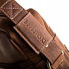 Чоловіча сумка для ноутбука BETLEWSKI  42 х 30 х 7 (TBG-HT-201) - коричневий, фото 5