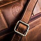 Чоловіча сумка для ноутбука BETLEWSKI  42 х 30 х 7 (TBG-HT-201) - коричневий, фото 7