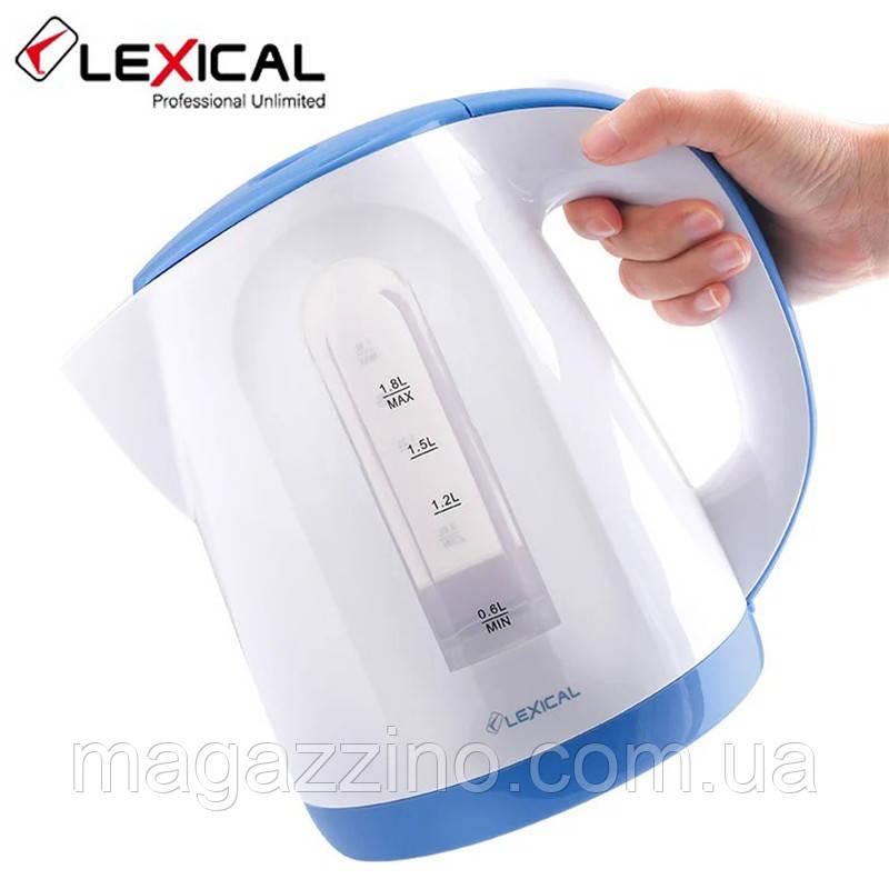 Электрический чайник Lexical LEK-1404, 1.8л, 2200 Вт.