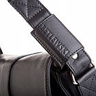 Чоловіча шкіряна сумка Betlewski 22 х 23 х 6 (TBG-YM-101) - чорна, фото 2