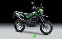 Японский бренд Kawasaki представляет миру новый мотоцикл D-Tracker 2016 года
