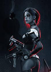 Картина GeekLand Deadpool Дэдпул Домино 40х60см DP.09.173