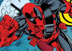 Картина GeekLand Deadpool Дэдпул комик арт 60х40см DP.09.010