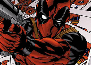Картина GeekLand Deadpool Дэдпул комик арт 60х40см DP.09.012