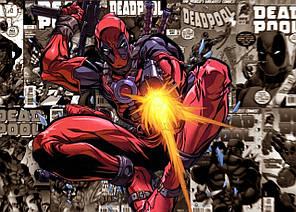 Картина GeekLand Deadpool Дэдпул комик арт 60х40см DP.09.014