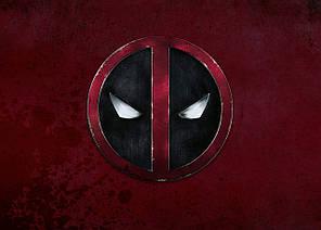 Картина GeekLand Deadpool Дэдпул минимализм 60х40см DP.09.006