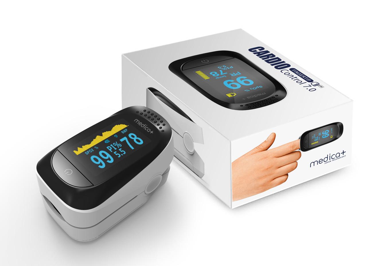 Пульсоксиметр  MEDICA+ Cardio Control 7.0 (Япония)