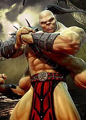 Картина GeekLand Mortal Kombat Мортал Комбат Горо 40х60см MK.09.028