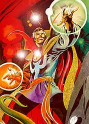 Картина GeekLand Doctor Strange Доктор Стрендж комикс арт 40х60см DS.09.020