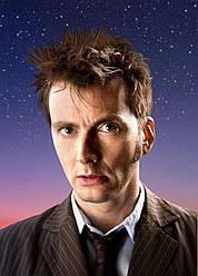 Картина GeekLand Doctor Who Доктор Кто 10-ый 40х60 DW 09.117