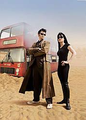 Картина GeekLand Doctor Who Доктор Кто 10-ый 40х60 DW 09.122