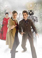 Картина GeekLand Doctor Who Доктор Кто 10-ый 40х60 DW 09.124