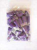 Трусики-стринги одноразовые Doily ис спанбонда (50 шт/уп.)  фиолетовые