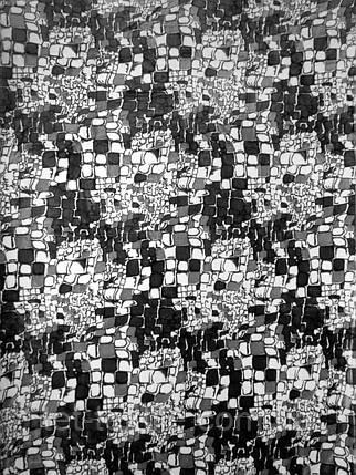 "Плед из микрофибры Elway ""Камушки черно-белые"" (200х220), фото 2"
