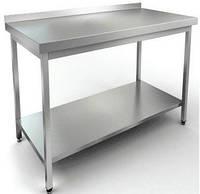 Стол производственный с нижней полкой 700х600 (Эконом)