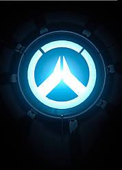 Картина GeekLand Overwatch Овервотч логотип 40х60см OW.09.053